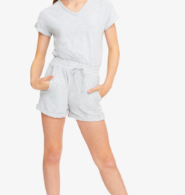 Habitual Girls Steffy V-Neck Romper