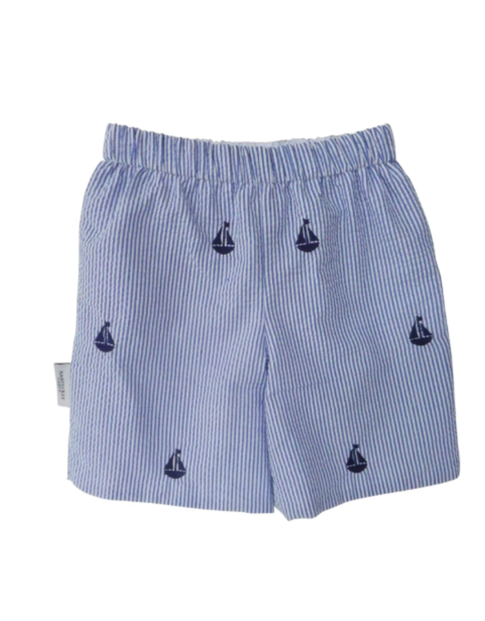 Nantucket Kids Set Sail Seersucker Shorts