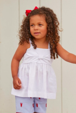 Nantucket Kids Bitty Bow Tank-Classic