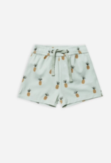 Rylee + Cru Pineapples Swim Trunk
