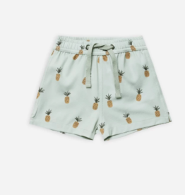 Rylee + Cru Pineapples Swim Trunk