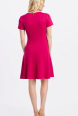 Draper James Ponte A-Line Dress