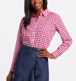 Draper James Gingham Button Down Shirt