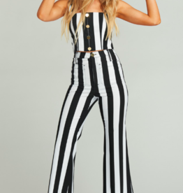 Show Me Your Mumu Cropped Farrah Trouser Chaplin