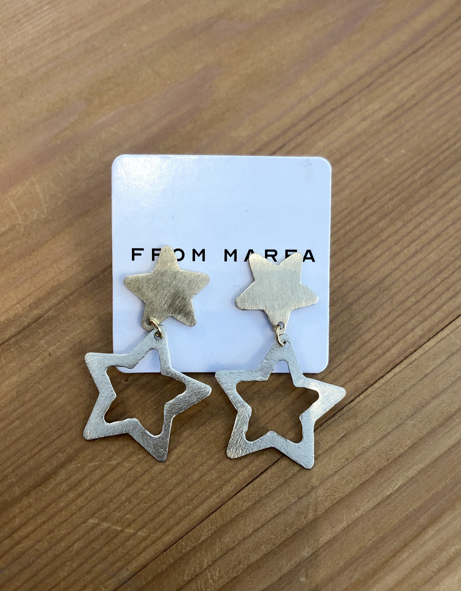 Sugar Star Earrings/Small Doub