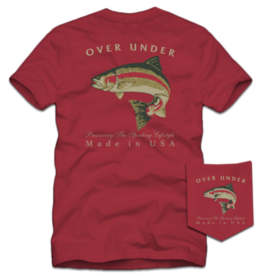 Over Under S/S Rainbow Trout