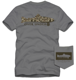 Over Under S/S Old School Trout