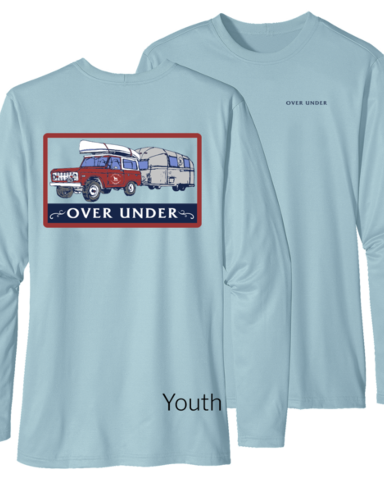 Over Under L/S Youth Tidal Tech