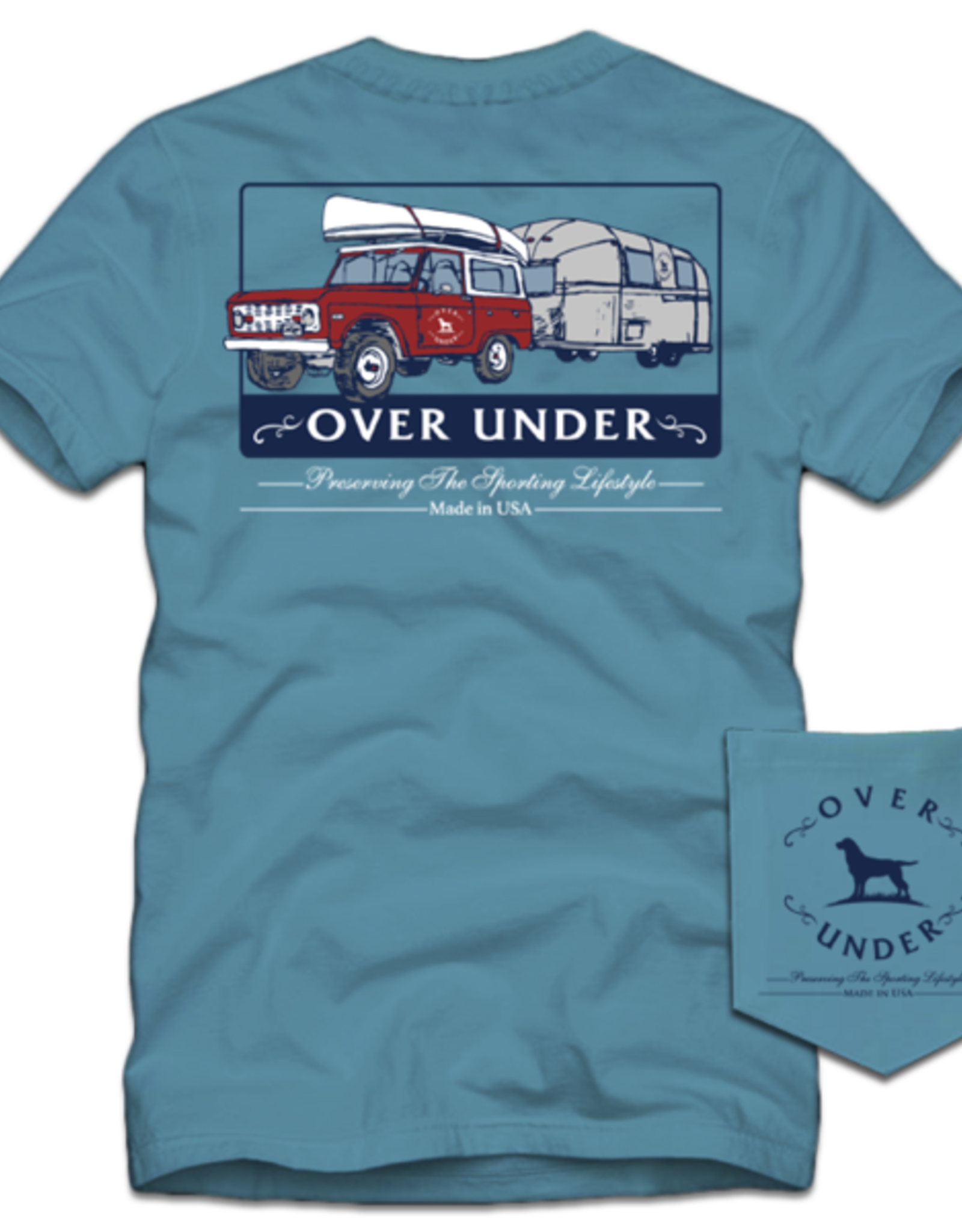Over Under S/S On the Road Again T-Shirt