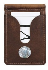 Over Under Bison Front Pocket Wallet