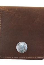 Over Under Bison Bifold Wallet