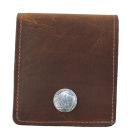 Over Under Bison Bifold Wallet