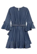 Habitual Girls Serena Stripe Dress
