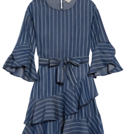 Habitual Girls Serena Stripe Dress