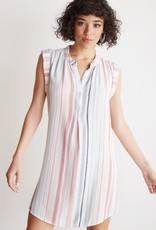 Bella Dahl Capsleeve Pleat Dress