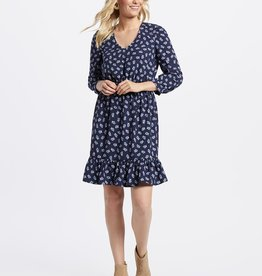 Draper James Floral Peasant Dress