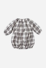 Rylee + Cru Check Bubble Romper