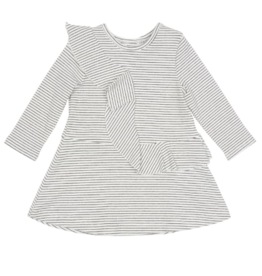 Habitual Girls Jordyn Stripe Rib Dress