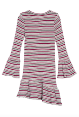 Habitual Girls Blaire Stripe Ruffle Dress