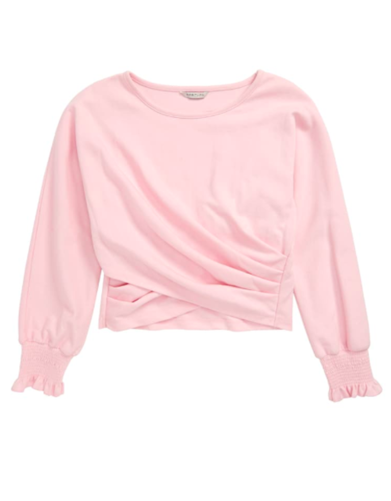 Habitual Girls Catherine Overlap L/S Top
