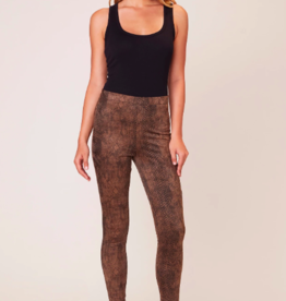BB Dakota Sidewinder Suede Legging