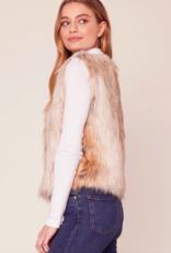 BB Dakota Bedrock City Faux Fur Vest