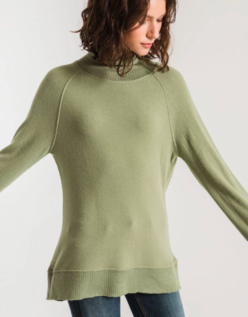 Z Supply The Soft-Spun Mock Neck