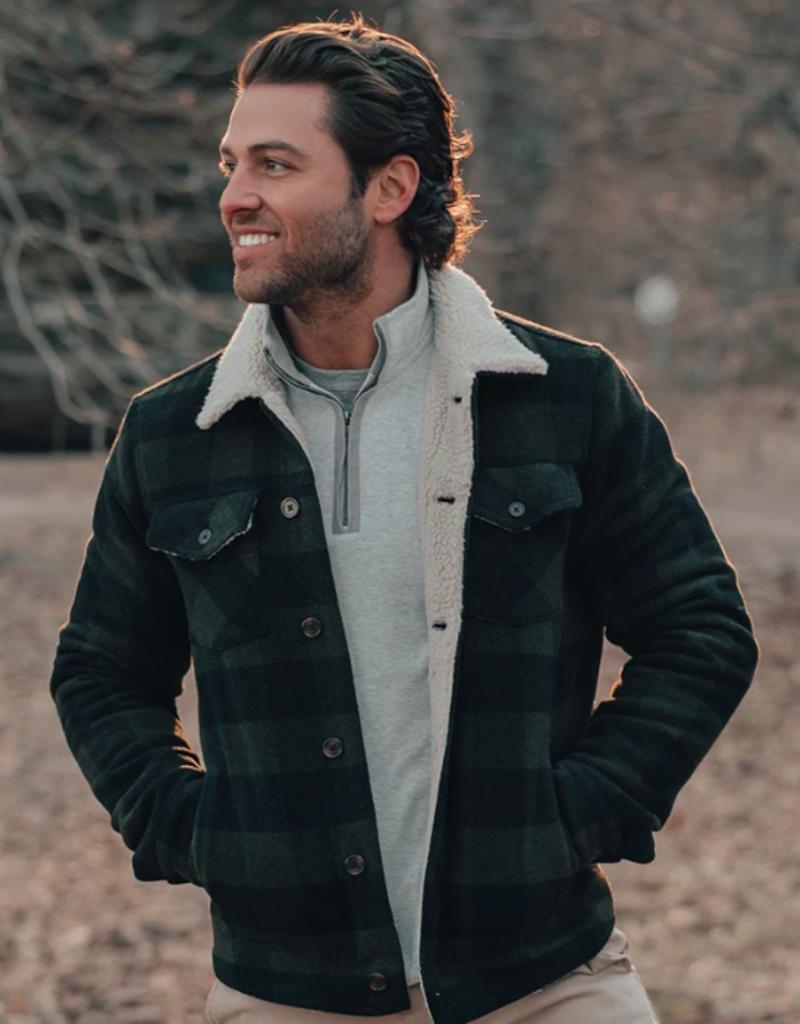 The Normal Brand Buffalo Sherpa Collar Jacket