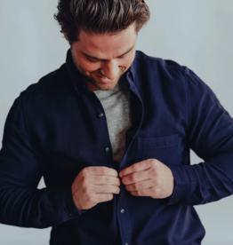 The Normal Brand Indigo V-Weave