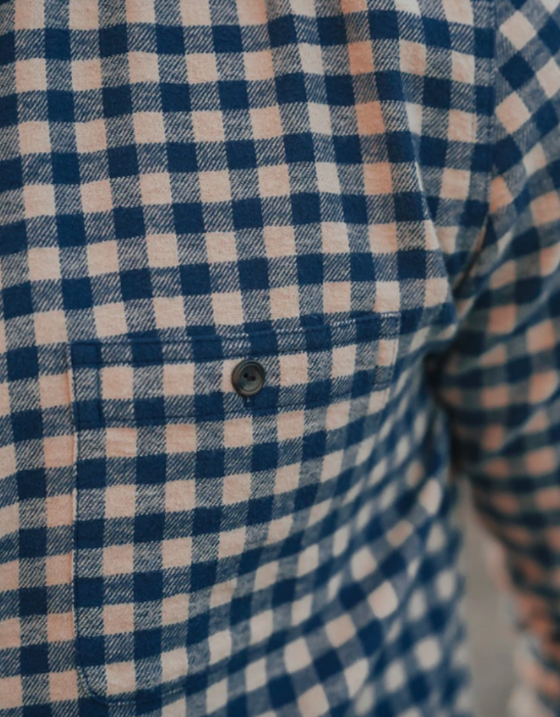 The Normal Brand Stephen Indigo Gingham