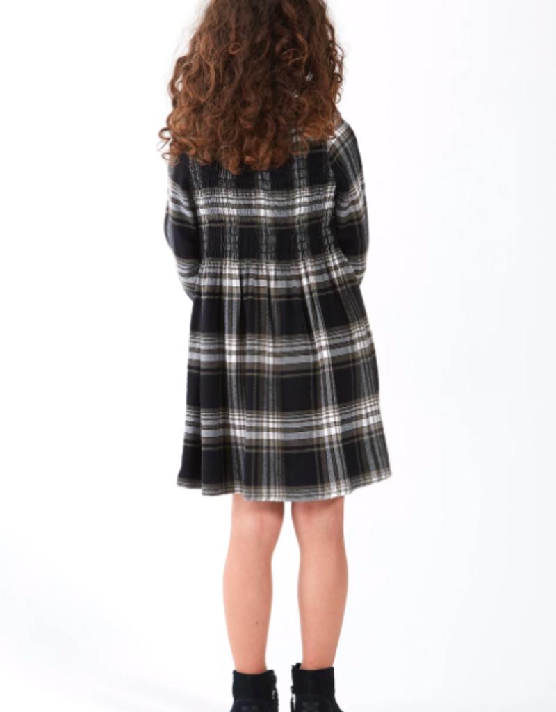 Bella Dahl Girls Smocked L/S Dress
