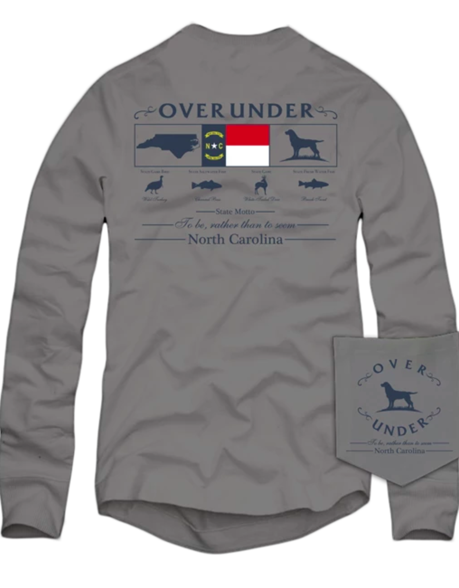 Over Under L/S State Heritage Sportsman