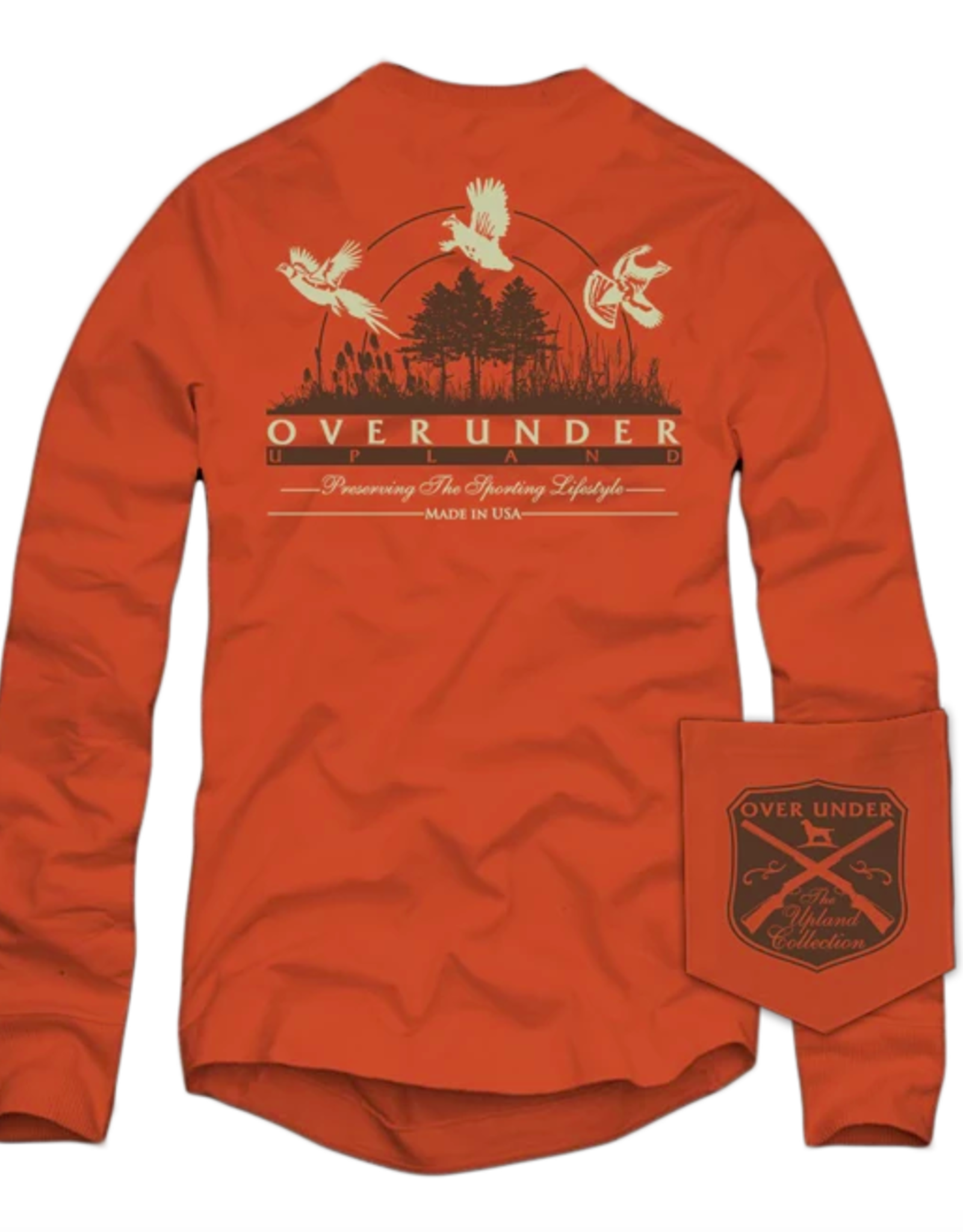 Over Under L/S Upland Collection T-Shirt
