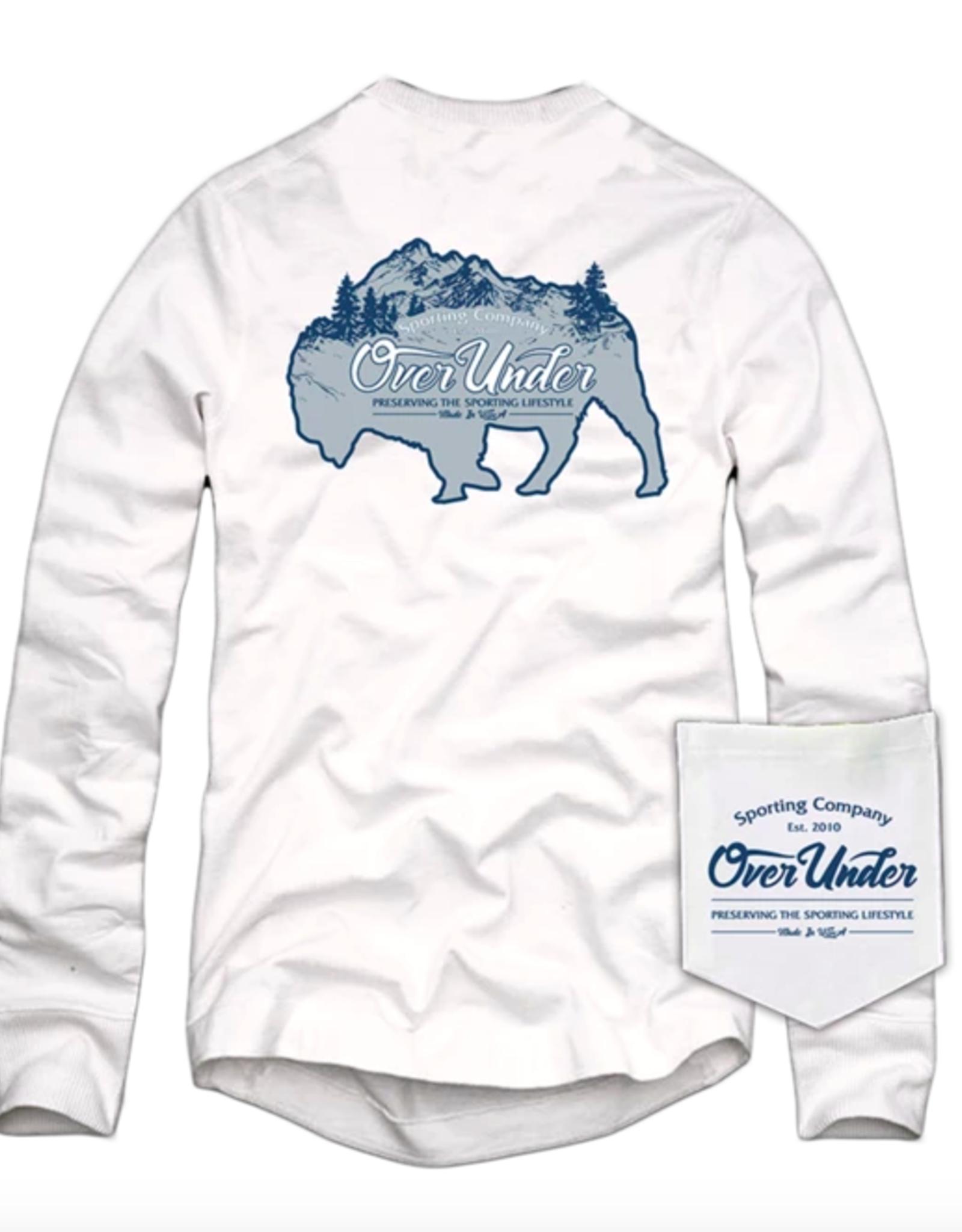 Over Under L/S Teton Bison T-Shirt