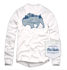 Over Under L/S Teton Bison T-Shirt