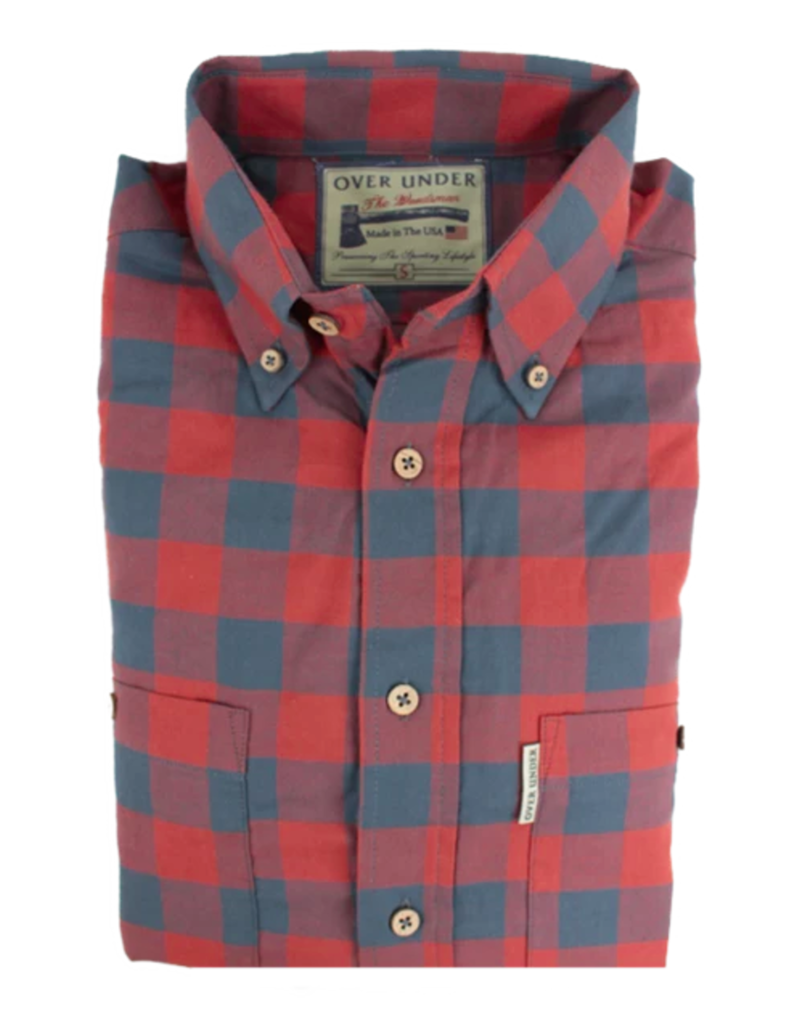 Over Under The Woodsman Flannel Shirt