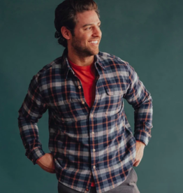 The Normal Brand Conrad Plaid Button Up