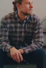 The Normal Brand Jaspe Yarn Plaid Button Down