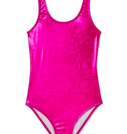 Stella Cove Pink Metallic Swimsuit