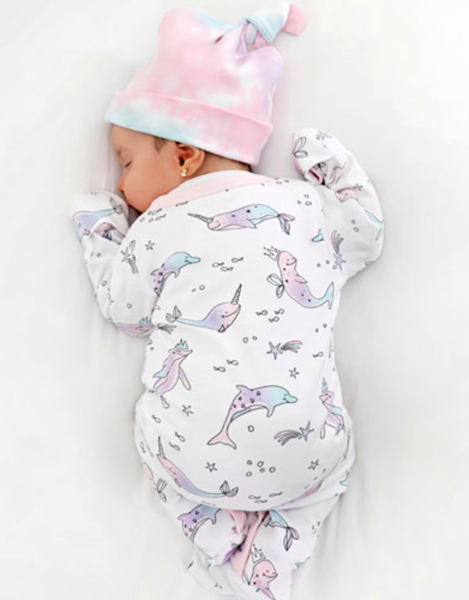 Baby Noomie Hat Cotton Candy