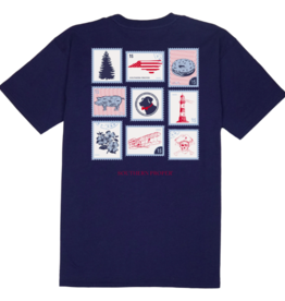 Southern Proper Proper Stamps - North Carolina Tee