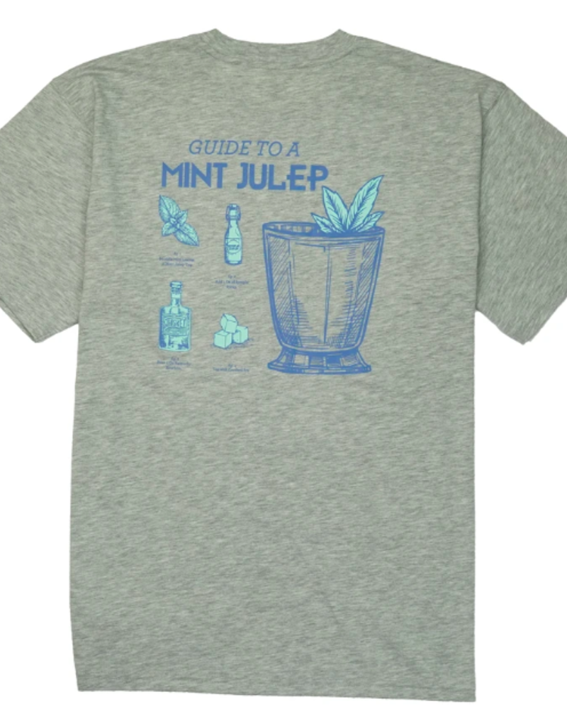 Southern Proper Guide To A Mint Julep Tee