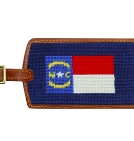 Smathers and Branson North Carolina State Flag Luggage Tag