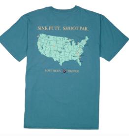 Southern Proper Sink Putt Shoot Par Tee
