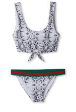 Stella Cove Snake Print Bikini