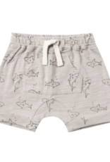 Rylee + Cru Shark Front Pouch Short