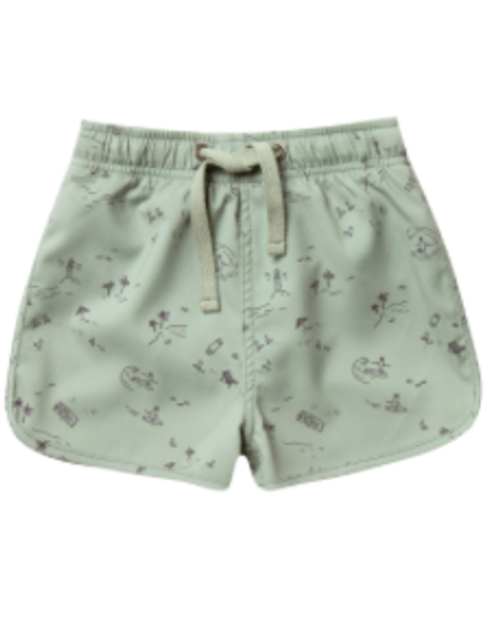Rylee + Cru Beach Town Swim Trunk