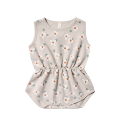 Rylee + Cru Dotty Flowers Playsuit