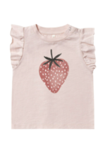 Rylee + Cru Strawberry Ruffled Tank