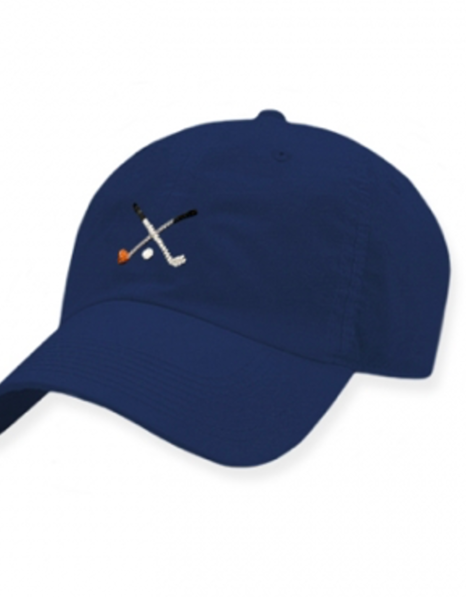 Smathers and Branson Crossed Clubs Performance Hat (Navy)